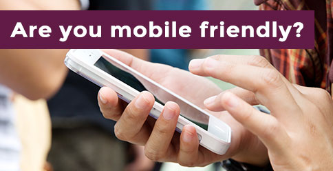 Non-mobile friendly websites may get penalised