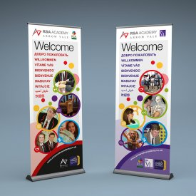 Arrow Vale Academy Banner Stands