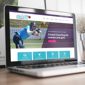 Cricket For Girls Website
