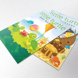 Little Turtle Nursery Branding