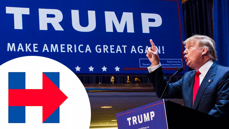 Branding: Election Logos – Clinton Vs Trump
