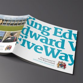 King Edward VI Five Ways Brochure