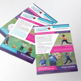 Cricket For Girls Branding